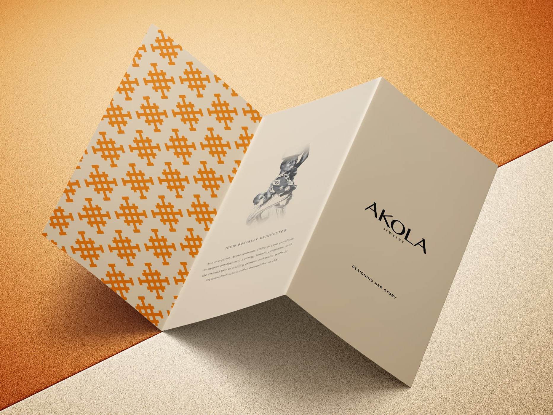 Akola Jewelry brochure